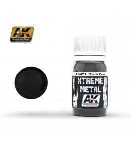 XTREME METAL NEGRO BASE 30 ML.