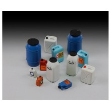 Plastic chemical/water containers & bottles 1/35