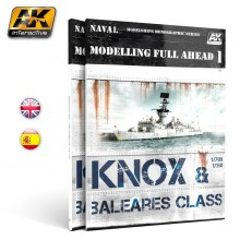 MODELLING FULL AHEAD 1 / KNOX & BALEARES CLASS