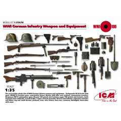 WWI German Infantry Weapons And Equipment 1/35