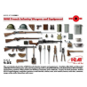 WWI French Infantry Weapons and Equipment 1/35