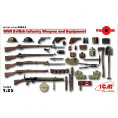 WWI British Infantry Weapons and Equipment 1/35