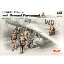 USAAF Pilots/Ground crew figures 1941/45  1/48