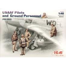 USAAF Pilots/Ground crew figures 1941/45 1/48