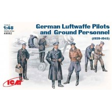 WWII Luftwaffe Pilots and Ground Personnel 1939-1945 1/48