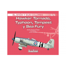 Hawker Tornado, Typhoon, Tempest y Sea Fury 4/4