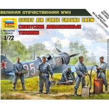 Russian/Soviet Airforce Ground Crew (WWII) 1/72