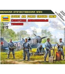 Russian/Soviet Airforce Ground Crew (WWII)  1/72