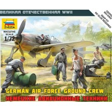 Luftwaffe Ground Crew (WWII)   1/72