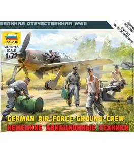 Luftwaffe Ground Crew (WWII)   1/72