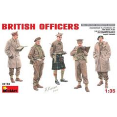 British Officers WII 1/35