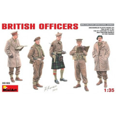 British Officers WII 1/35