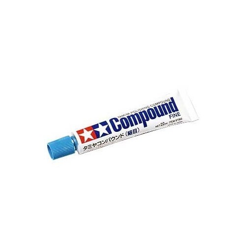 Tamiya Polishing Compound Fine 22ml.