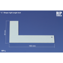 L  shape right angle tool