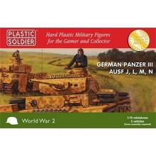 Pz.Kpfw.III Ausf.J, Ausf.L Ausf.M and Ausf.N 1/72