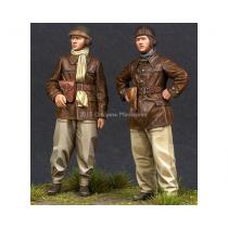 WW2 French Tank Crew Set (2 figs) 1/35