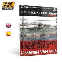 MODELLING FULL AHEAD SPECIAL 1/ LEXINGTON´S FINAL BATTLE,en ENGLISH