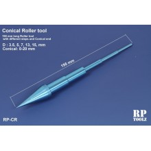 Conical roller tool