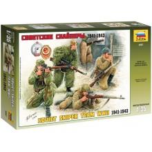 Soviet Sniper Team 1/35