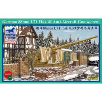 German 88mm L71 Flak 41 Anti-Aircraft Gun w/Crew  1/35