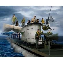German (WWII) Navy Figures WWII 1/72