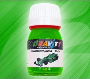 GC-134 Fluorescent Green de Gravity Colors