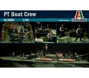 Elco 80' Torpedo Boat PT Boat Crew 1/35