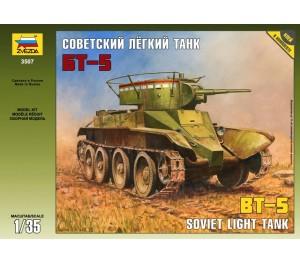 Soviet BT-5 Light Tank 1/35