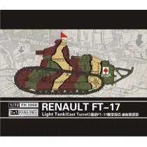 Renault FT-17 Light Tank (Cast turret) 1/72
