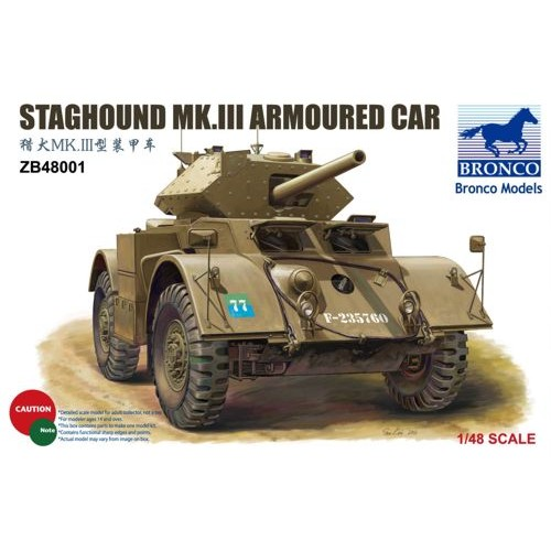 Staghound Mk III 1/48