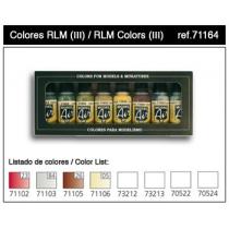 SET COLORES RLM-III