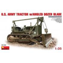 U.S.  ARMY TRACTOR w/ANGLED DOZER BLADE 1/35