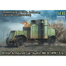 British Armoured Car, Austin, MK III, WW I Era 1/72