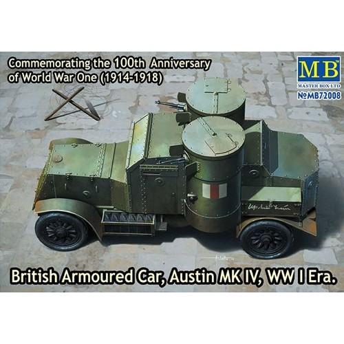 British Armoured Car, Austin, MK III, WW I Era  1/72
