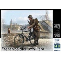 French soldier, WWII era 1/35