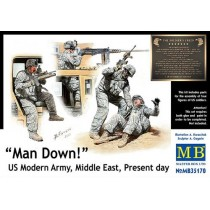 Man Down! US Modern Army, Middle East, Present day 1/35