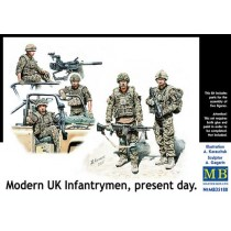 Modern UK Infantrymen, present day 1/35