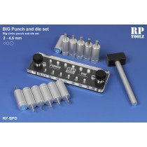 BIG Punch & Die tool set,2 to 4.5 mm.