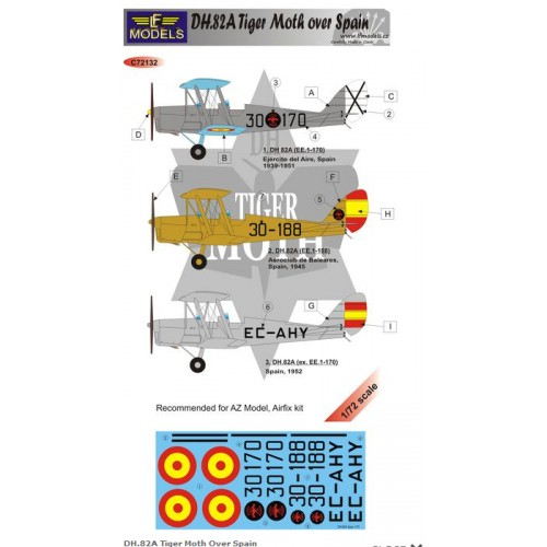 DH.82A Tiger Moth Over Spain  1/72