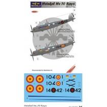 Heinkel He.70 Rayo  Spain  1/72