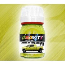 GC-150 National Fire Safety  Lime Yellow de Gravity Colors