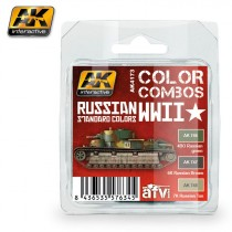 RUSSIAN WWII STANDARD COLORS COMBO