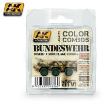Bundeswehr desert camouflage colors