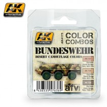 Bundeswehr desert camouflage colors