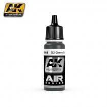 D2 GREEN BLACK 17ML.