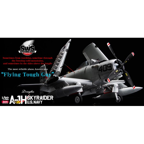 DOUGLAS A-1H SKYRAIDER U.S.NAVY 1/32