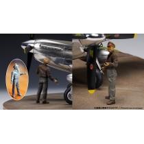P-51D Battlefield Artist 1/32,figura