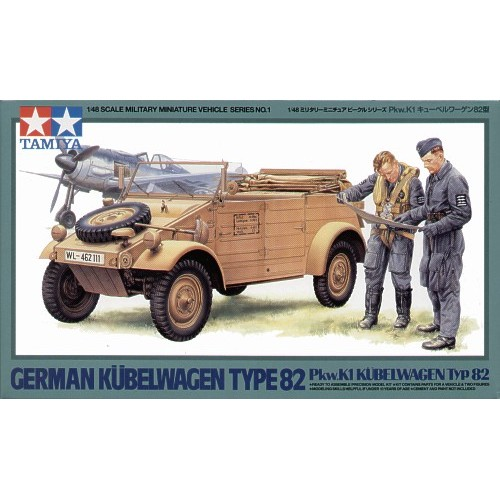Kubelwagen Type 82 and figures 1/48