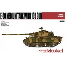 GERMANY WWII E-50 MEDIUM TANK WITH 105 GUN 1/72