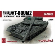 RUSSIAN T-80UM2 (BLACK EAGLE) MAIN BATTLE TANK 1/72
